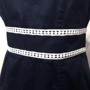 Dresses & Skirts - navy blue dress, classic a-line